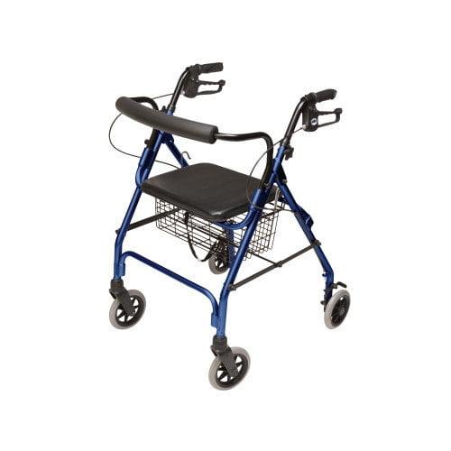 Lumex Walkabout Lite Four-Wheel Rollator