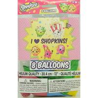 "12"" Latex Shopkins Balloons, 8ct"
