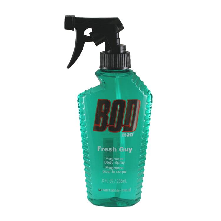 Bod Man Fresh Guy Fragrance Body Spray 8.0 Oz / 236 Ml