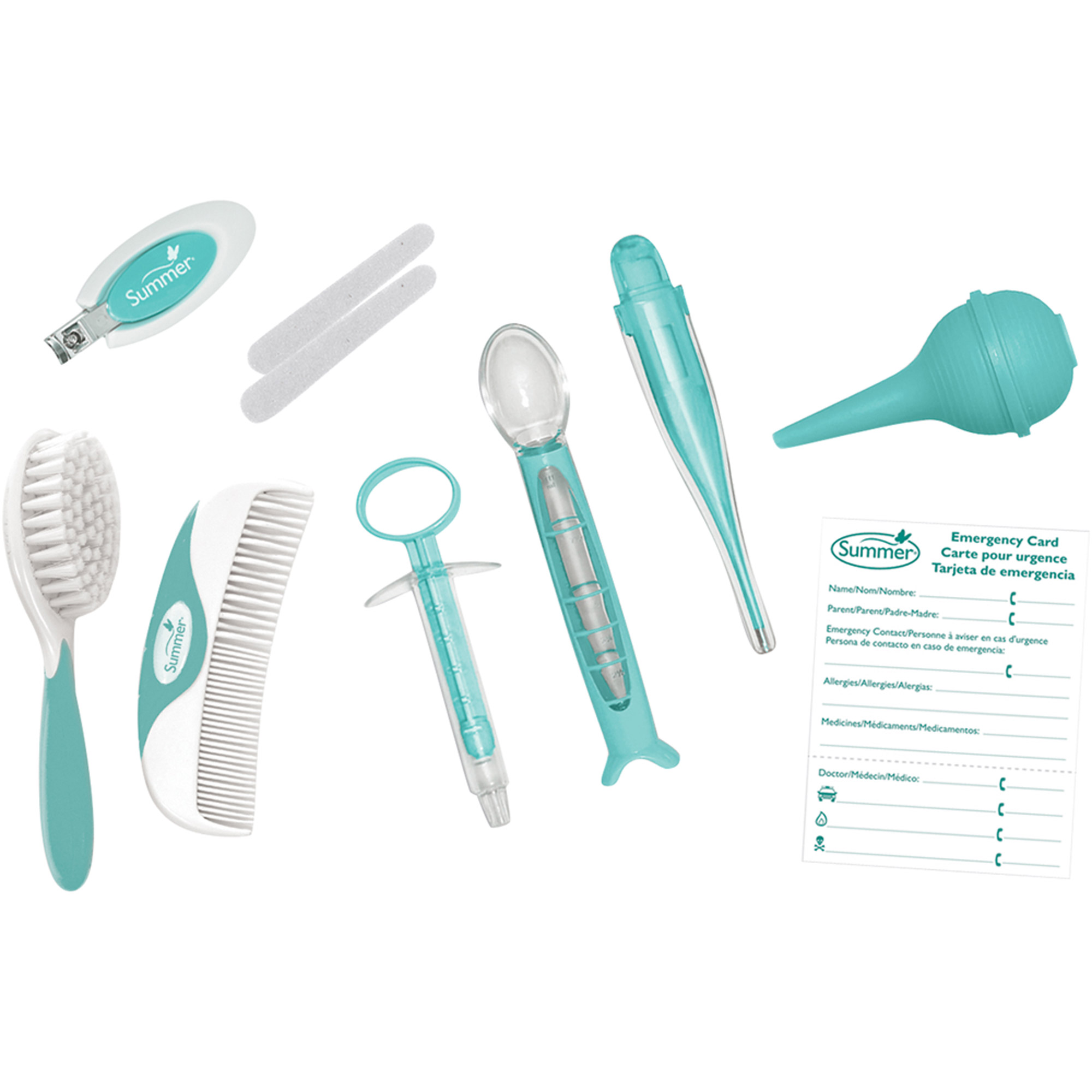 Summer Infant Health and Grooming Kit, 12 pc
