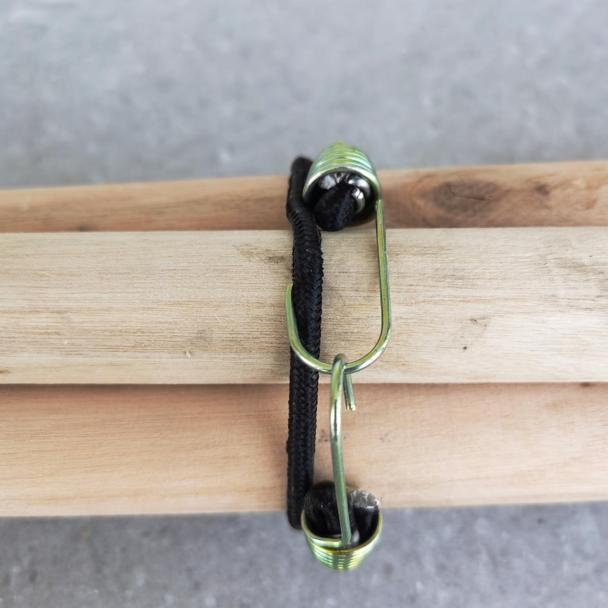 10pc Premium-Grade New Virgin Rubber 8 Bungee Ball Cords Tarps Wrap Hose /& Cords Pro Tools Canopy