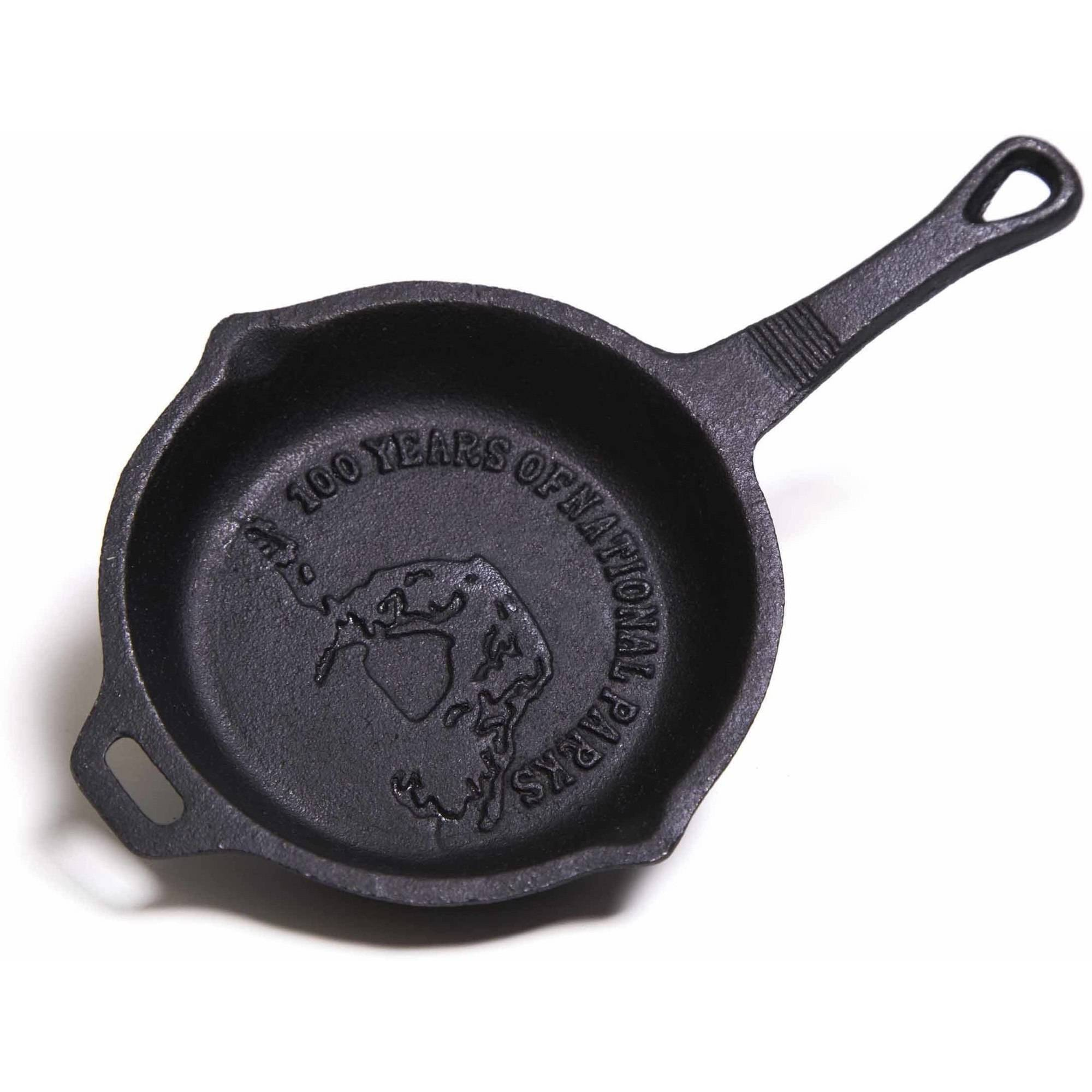 "Camp Chef 4"" Cast Iron, Pre Seasoned Skillet with Dual Pour Spouts"