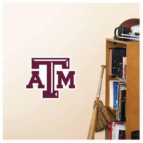 NCAA Texas A&M Fathead Teammate Logo