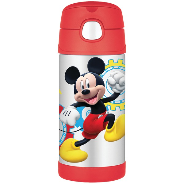 Thermos Funtainer 12 Ounce Bottle, Mickey Mouse