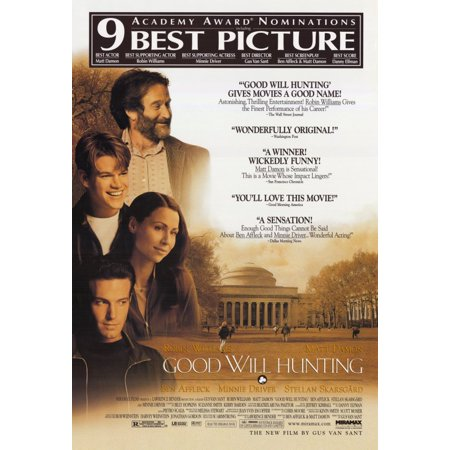 Good Will Hunting  1997  11X17 Movie Poster