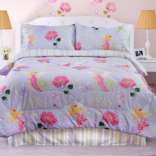 Veratex, Inc. Glow in The Dark Fairy Light Comforter Set