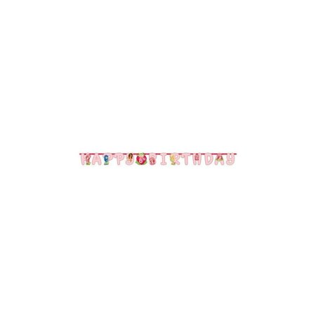 strawberry shortcake 'dolls' jumbo letter banner kit - Strawberry Shortcake Baby Shower