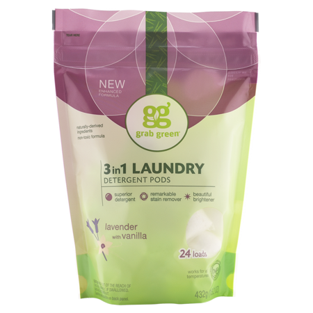 Grab Green Natural 3 In 1 Laundry Detergent Detergent Pre