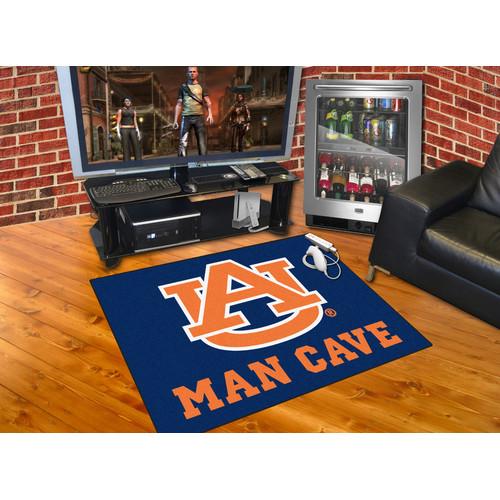 "Auburn Man Cave All-Star Mat 33.75""x42.5"""