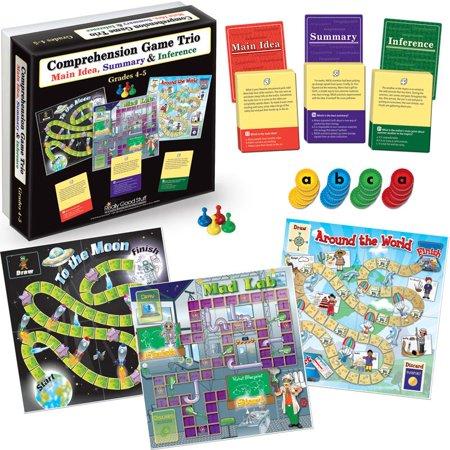 Comprehension Game Trio: Main Idea, Summary & Inference - Grades 4-5](Trio Ideas)