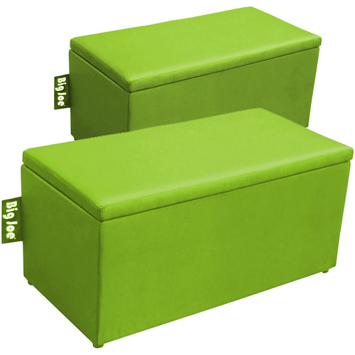 **retired**Big Joe 2-in-1 Bench Ottoman,Spicy Lime