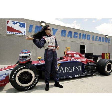 Danica Patrick Poster Argent Car