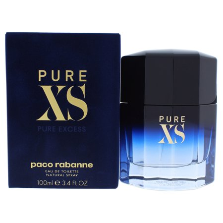 XS Excess by Paco Rabanne for Men - 3.4 oz EDT Spray