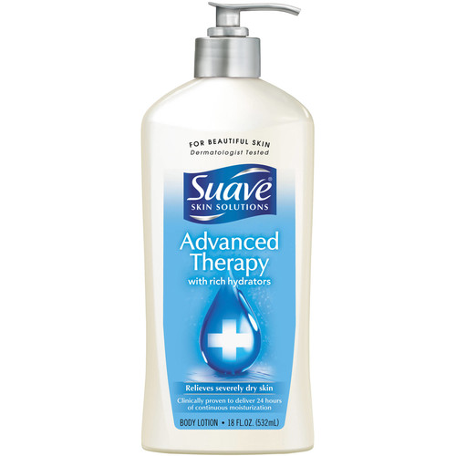 Suave Advanced Therapy Body Lotion 18 oz
