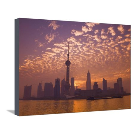 Lujiazui Finance and Trade Zone, with Oriental Pearl Tower, and Huangpu River, Shanghai, China Stretched Canvas Print Wall Art By Jochen Schlenker](Oriental Trade Com)