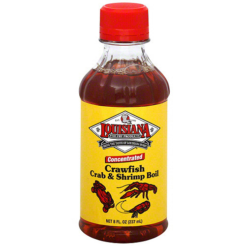 Louisiana Fish Fry Products Fish Fry Crab And Shrimp Boil, 8 oz (Pack of 12)