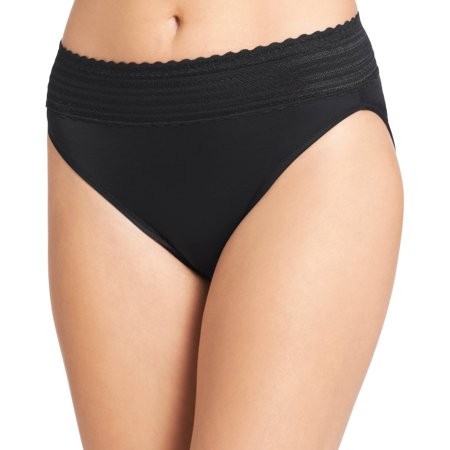 Women's no pinching. no problems. lace hi-cut brief panty - style -