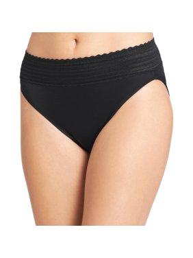 Women's no pinching. no problems. lace hi-cut brief panty - style 5109j