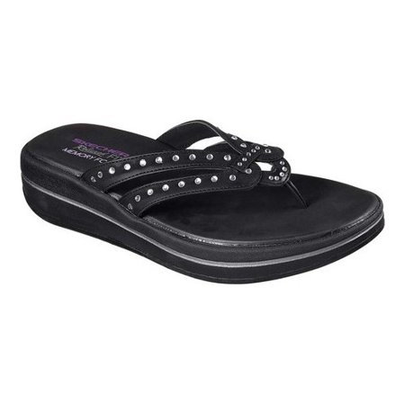 6c09424b0 Skechers - Skechers Women s Relaxed Fit Upgrades Be Jeweled Thong -  Walmart.com