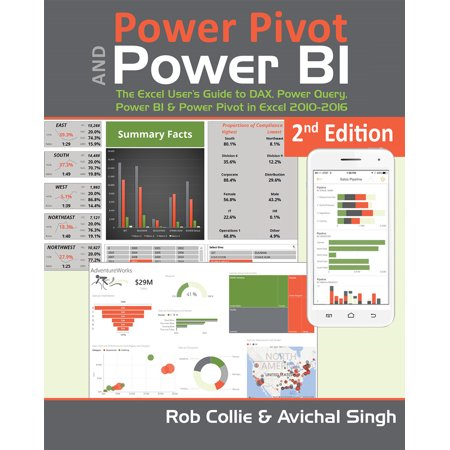 Power Pivot and Power BI : The Excel User's Guide to DAX, Power Query, Power BI & Power Pivot in Excel
