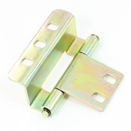 Unique Bargains Bronze Tone Concealed Hidden Hinge for ...