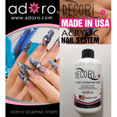 Sculpting Liquid (Adoro Decori Acrylic Sculpting Liquid 8 OZD )