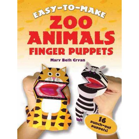 Easy-To-Make Zoo Animals Finger Puppets