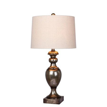 Fangio Lighting Textured Resin Urn Table Lamp - Fangio Lighting Resin