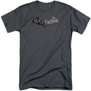 Arkham City Logo Mens Big and Tall Shirt