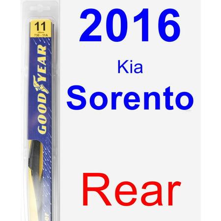 - 2016 Kia Sorento Rear Wiper Blade - Rear