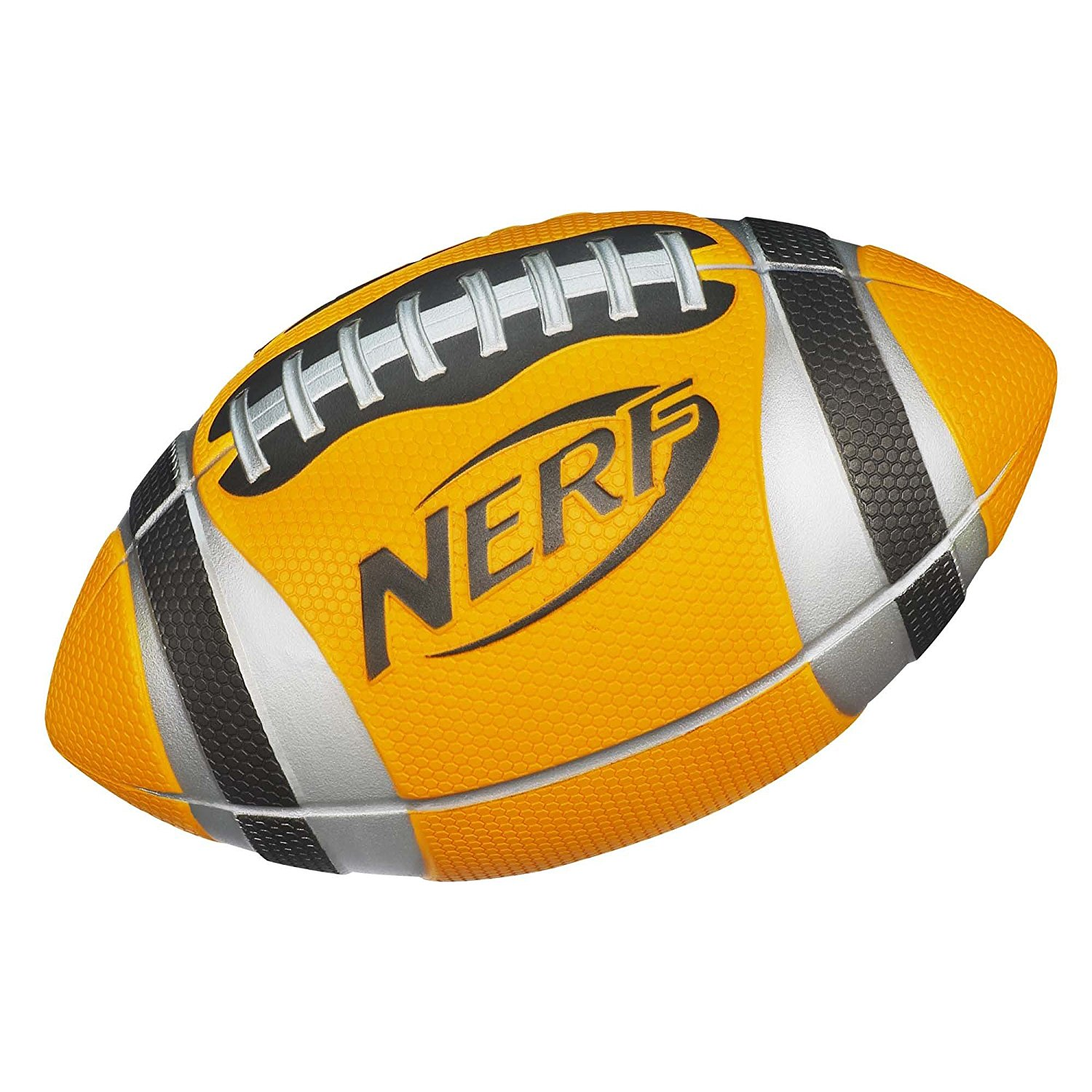 N-Sports Pro Grip Football Orange, Pro Grip football lets you throw like a pro By Nerf by