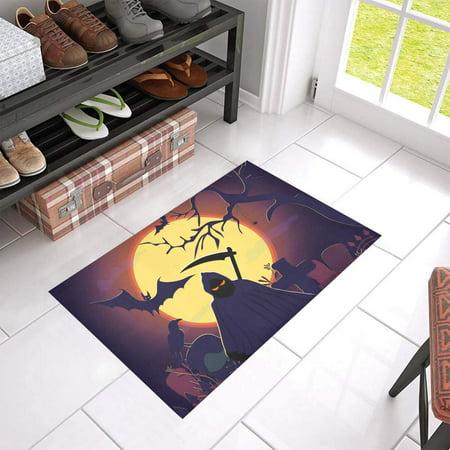 100 Floors Halloween Season Floor 7 (MKHERT Halloween Witch Doormat Rug Home Decor Floor Mat Bath Mat 23.6x15.7)