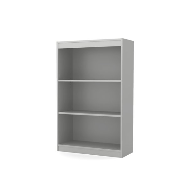 "South Shore Smart Basics 3-Shelf 43 1/4"" Bookcase, Multiple Finishes"