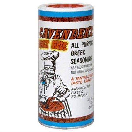 Cavender's Greek Seasoning, Salt Free, 7 Ounce Herb Salt Free Seasoning