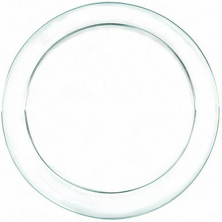 Amscan Clear Plastic Dinner Plates (Pack of 24)](Amscan Halloween Plates)