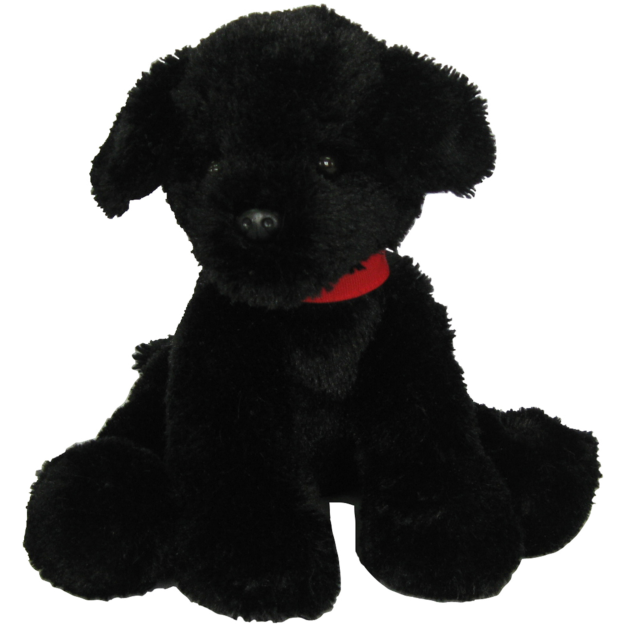 First and Main Inc. Pup E Dog Plush, Black