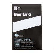 """Bienfang Designer Grid Paper Pad, 10x10 Grid, 11"""" x 17"""""""