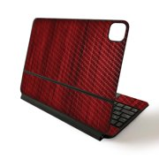 Carbon Fiber Skin Decal Wrap for Apple Magic Keyboard for iPad Pro 11-inch (2020) sticker Wood Collection
