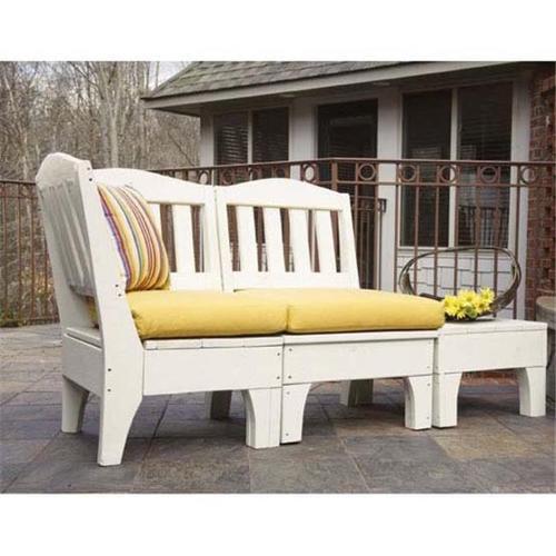 Uwharrie Chair CHSE-00D Chat Seat Cushion - Grade D