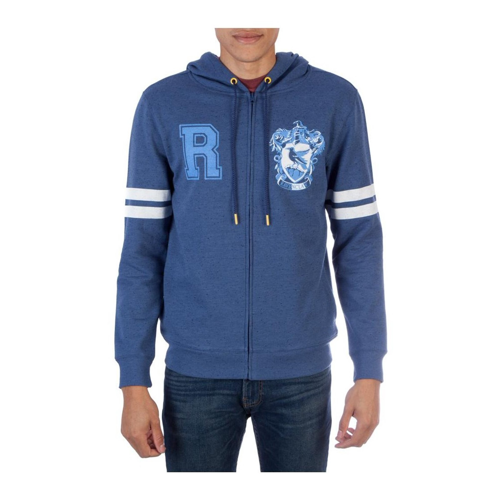 various design save up to 80% cheap for discount Harry Potter Ravenclaw Fleece Hoodie Adult Blue Sweater Licensed ...