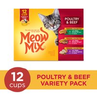 Meow Mix Tender Favorites Variety Pack Wet Cat Food (Various Sizes + Flavors)
