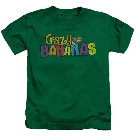 Trevco DUBBLE BUBBLE CRAZY BANANAS Kelly Green Child Unisex T-Shirt