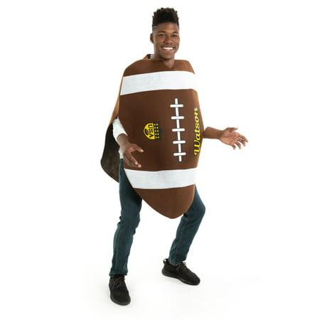 Crazy Football Fan Halloween Costume (Hauntlook All-American Football - Fun Adult Sports Tailgating, Gameday & Halloween)