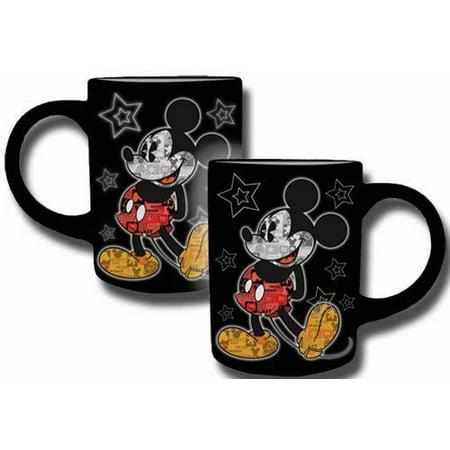 Disney Mickey Mouse Comic 14Oz  Ceramic Mug By Jerry Leigh