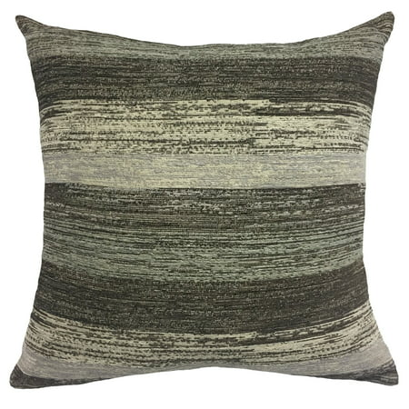 Better Homes & Gardens Gray Stripe Decorative Throw Pillow, 20