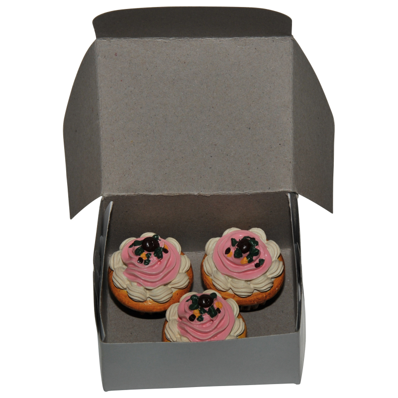 """Bakery Collection 3pc Cupcakes For 18"""" Doll Furniture & Kitchen Play Food Accessories"""