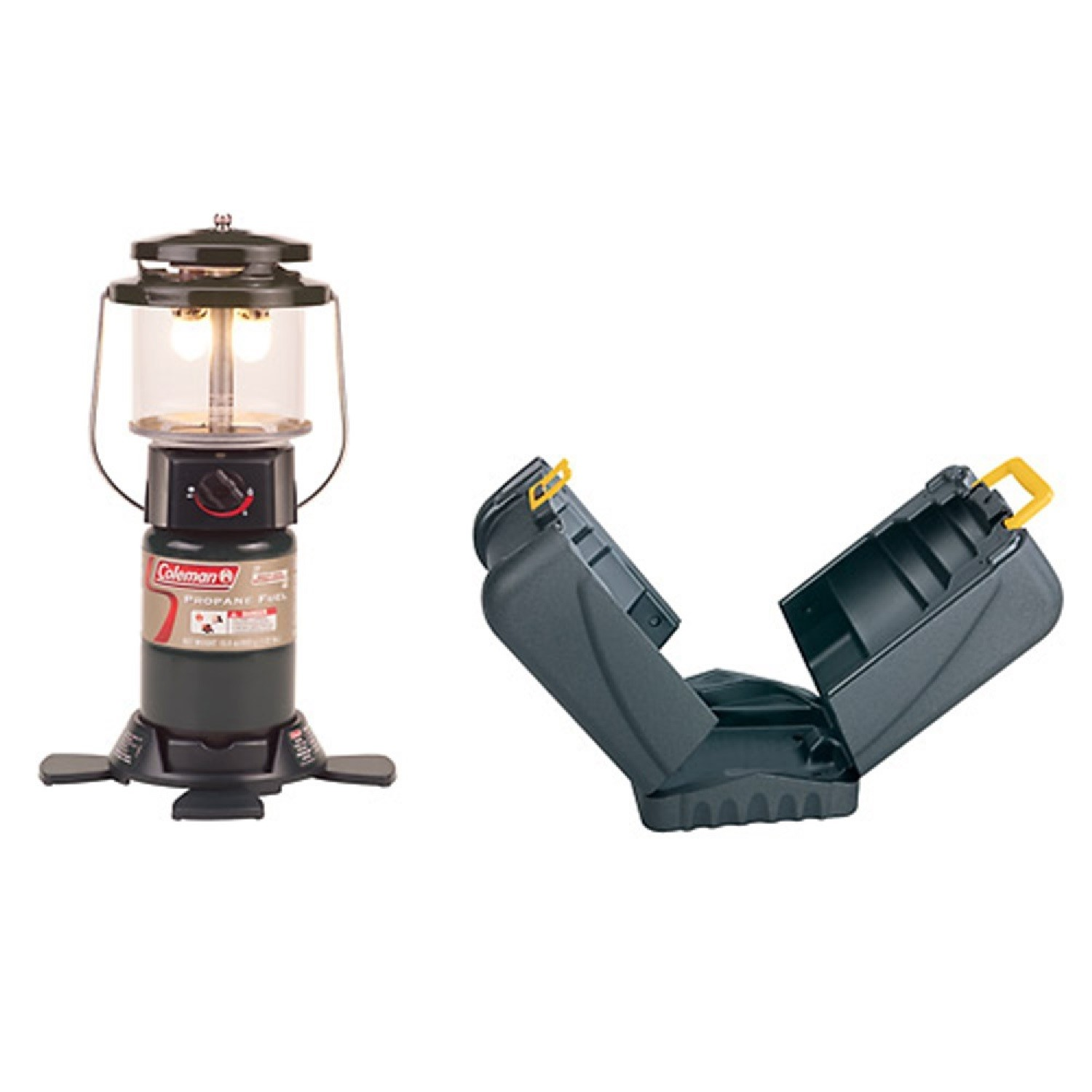 Coleman Deluxe Propane Lantern w/Hard Carry Case 2-26520