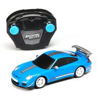 Adventure Force 1:26 Blue Porsche RC Car