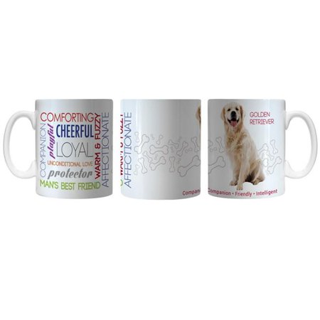 Pet Coffee Mug 11oz Golden Retriever - image 1 de 1