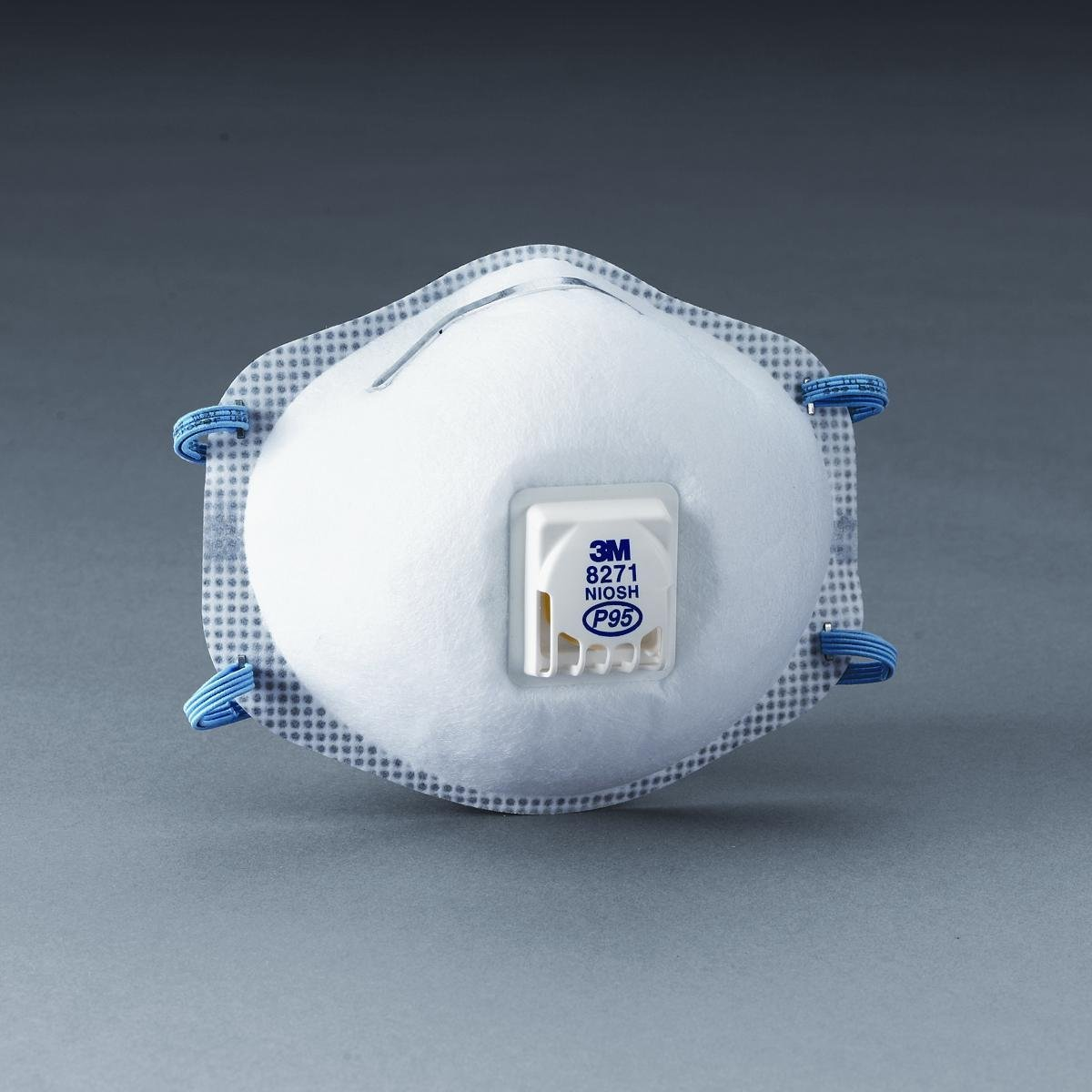 MMM8271 Disposable P95 Particulate Respirator, By 3M by